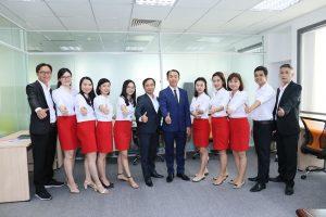 Đội ngũ nhân viên HPT Hồ Chí Minh