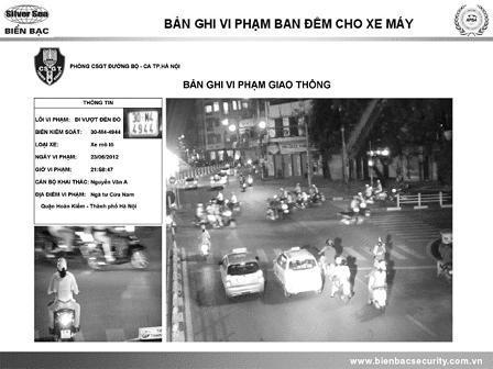Hệ thống tự động phát hiện vi phạm giao thông STM trên báo nhân dân cuối tuần qua