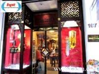 HPT trúng thầu hệ thống cổng từ an ninh chống mất cắp hàng hóa cho 8 showroom tập đoàn Khải Silk