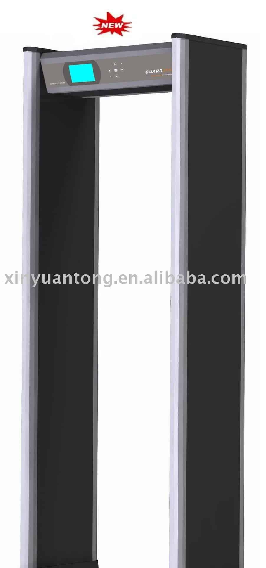 Cổng dò kim loại XYT2101LCD( 6-18 zones)HP