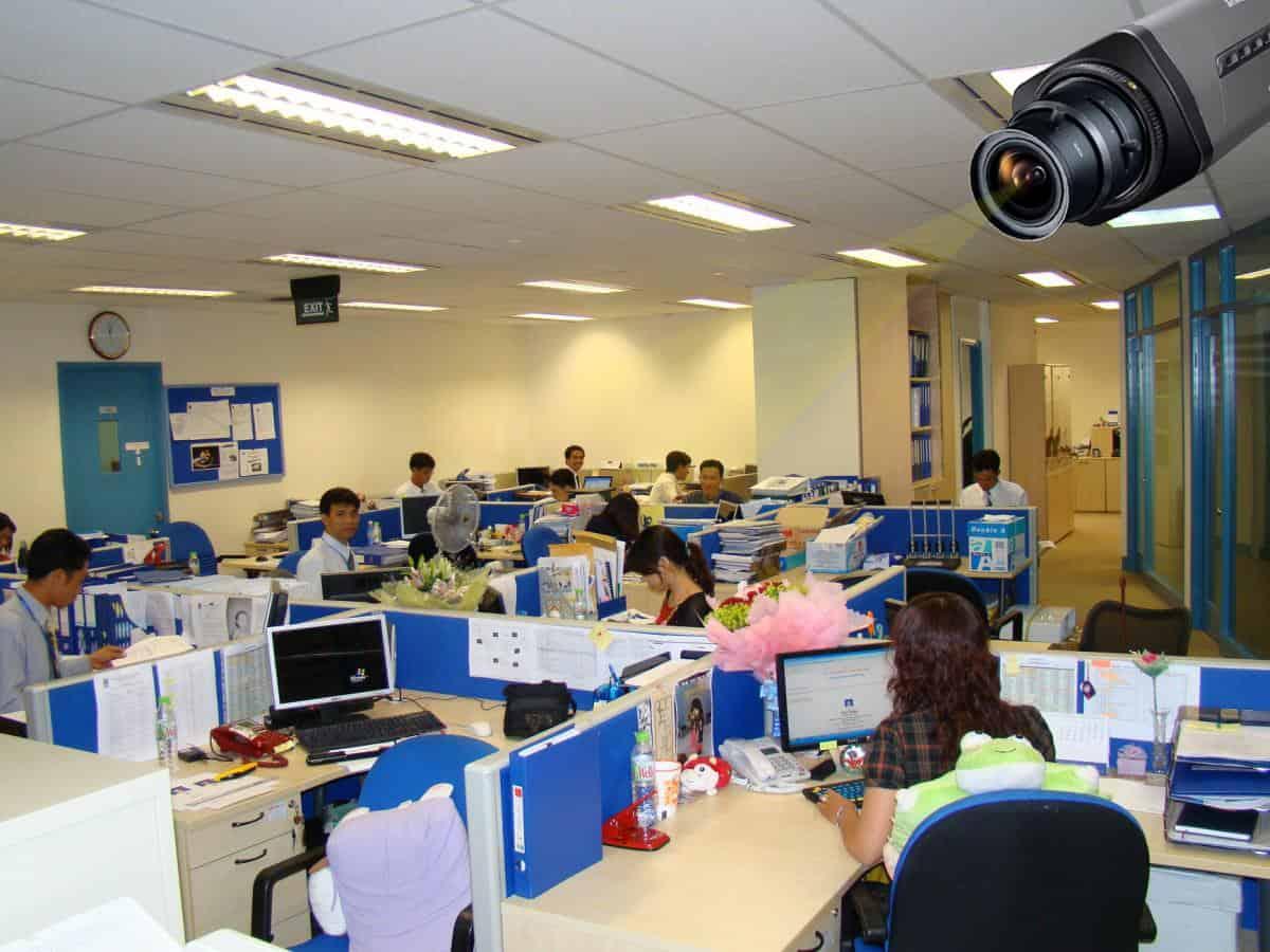 Bảo vệ dữ liệu bằng cách sử dụng camera an ninh giám sát