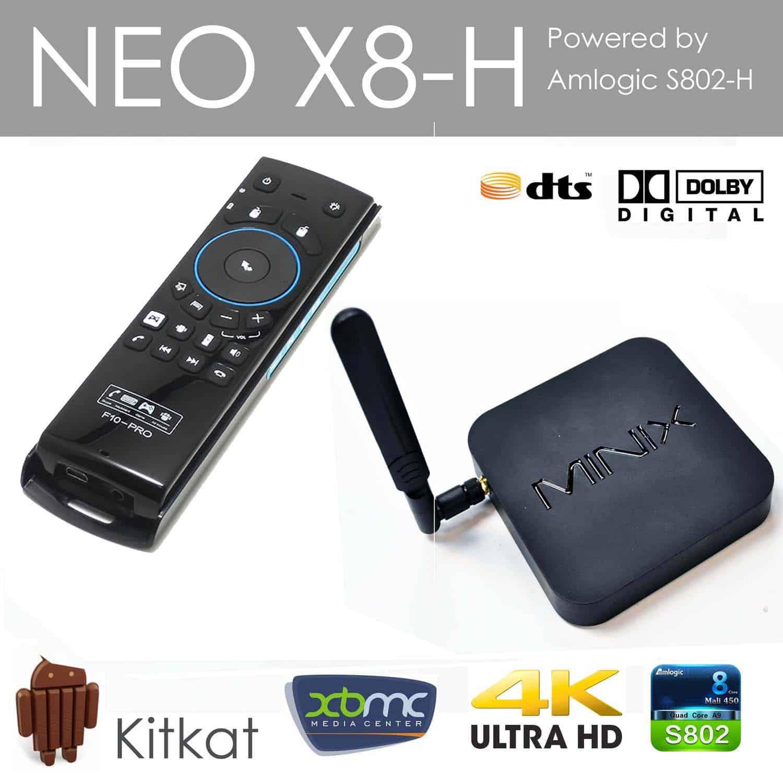Smart Tv Box Minix Neo X8-H