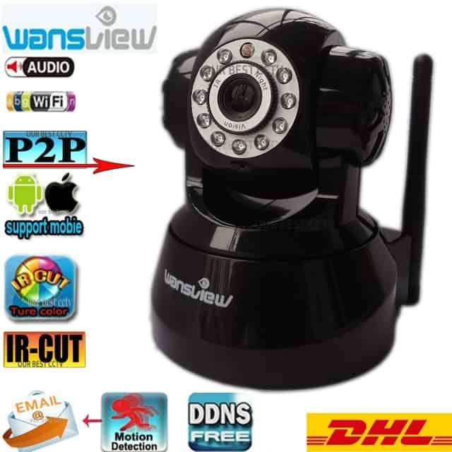 Camera Ip giám sát Wansview NCL616WH ( Đen)