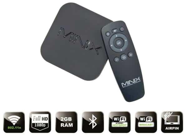 Bảng giá TV Box Android Minix Neo X5 X7 X8