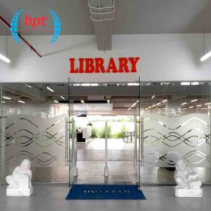HPT Lắp đặt hệ thống cổng từ thư viện cho Trường Đại học FPT