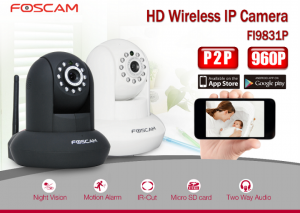 Camera IP Foscam Wifi FI9831P Plug and Play