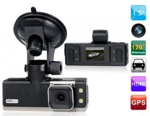 Camera hành trình cao cấp LG Vison GS2000HP có GPS hiển thị tốc độ