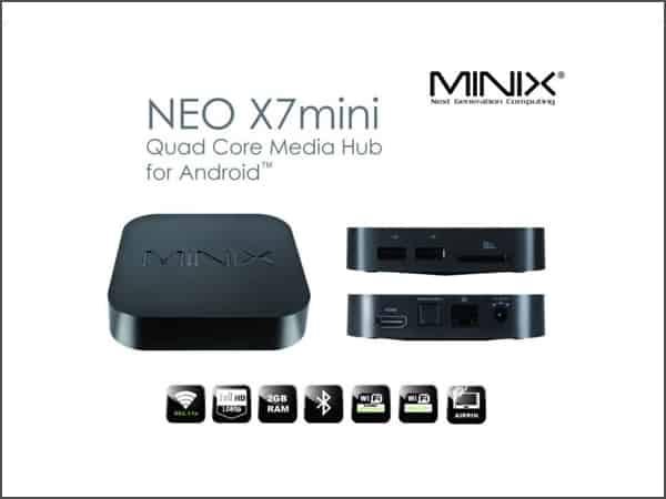 Khuyến mãi Minix Neo X7 Mini