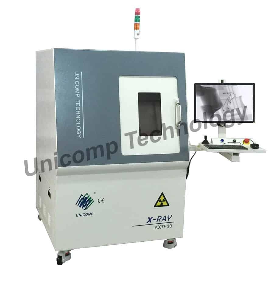 Máy X-Ray AX7900 Unicomp - Hệ thống kiểm tra phát hiện khuyết tật kim loại bền