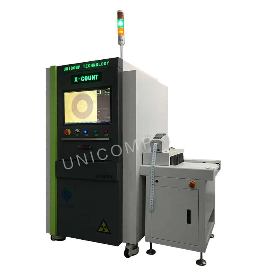 Bộ đếm chip Unicomp hiệu suất cao - Máy X-Ray CX6000