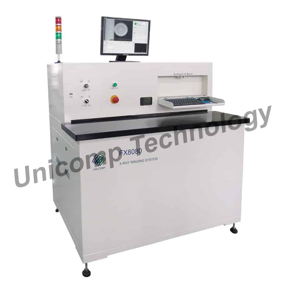 Máy X-Ray FX8080 Unicomp- Thiết bị phát hiện PCB