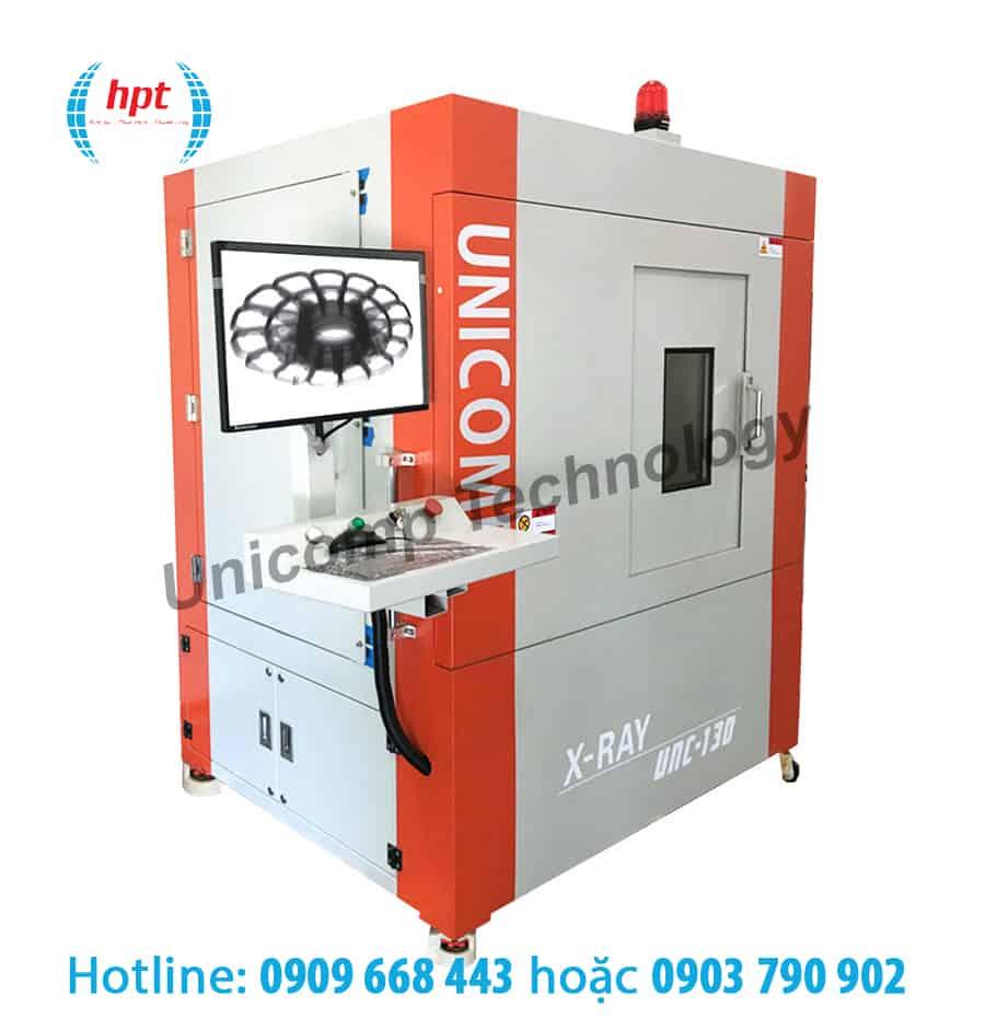 Máy X-Ray UNC130 kiểm tra 2D công nghiệp với tỷ trọng thấp