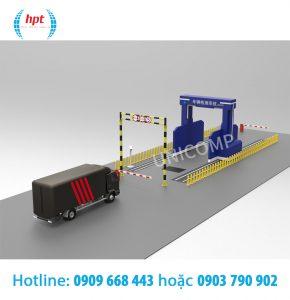 Máy X-Ray UNJ700 soi hàng hóa các thùng chứa, xe tải và các phương tiện khác