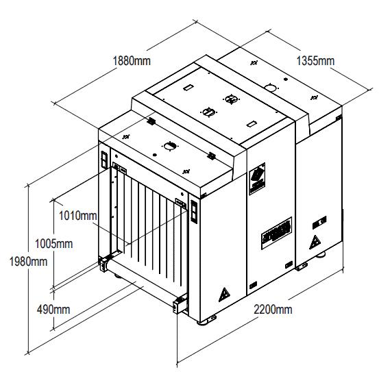 Máy X-Ray UNX100100EX (On-line) trực tuyến