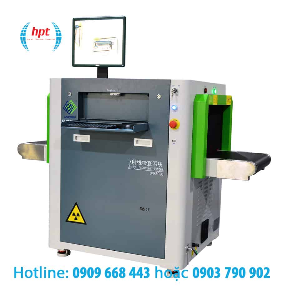 Máy X-Ray UNX5030E soi hành lý cho địa điểm nhỏ