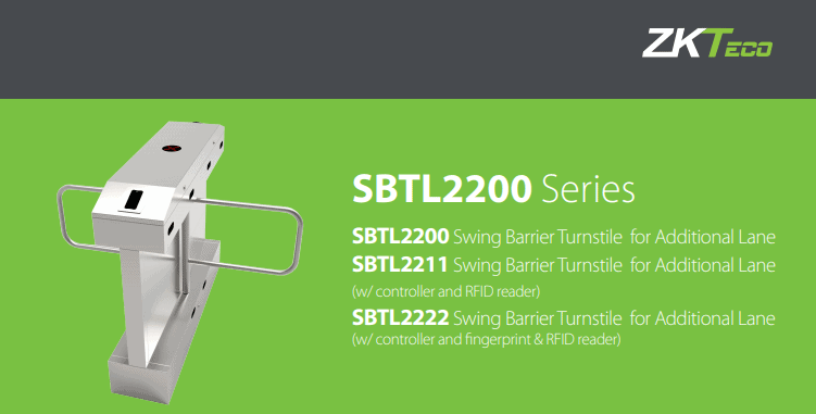 Cổng chắn swing lối vào BTL2200 Series