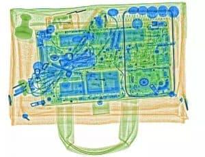Hình ảnh kiểm tra Máy X-Ray Soi Hành Lý AT5030C Safeway System