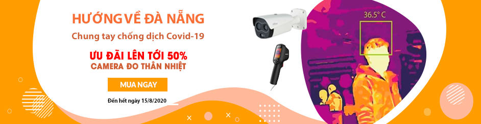Sale 50% camera nhiệt