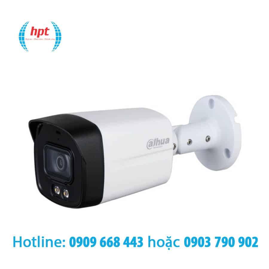 Camera HDCVI 2MP Full Color DAHUA DH-HAC-HFW1239TLMP-A-LED