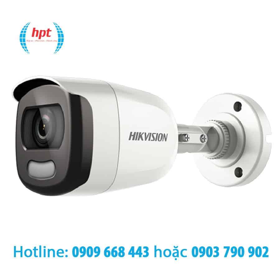 Camera HDTVI ColorVu 2MP HIKVISION DS-2CE10DFT-F