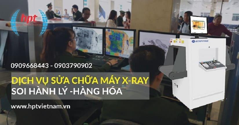 Dịch vụ sửa chữa máy soi hành lý X-Ray