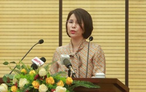 Bà Trần Thị Nhị Hà, Phó Giám đốc Sở Y tế Hà Nội