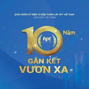 HPT Việt Nam Dấu Ấn Chặng Đường 10 Năm - Gắn Kết Vươn Xa