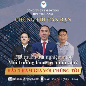HPT Việt Nam Tuyển Dụng Nhiều Vị Trí Tháng 03/2021