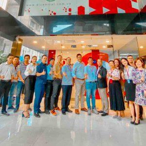 CEO HPT Việt Nam thăm và kết nối kinh doanh với các Doanh nghiệp Công nghệ Triệu Đô