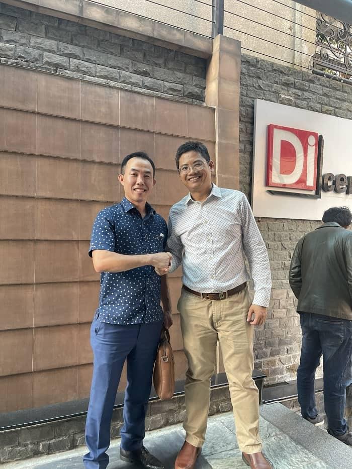 Ông Khang Lê – Tổng Giám Đốc Tập đoàn DiCentral