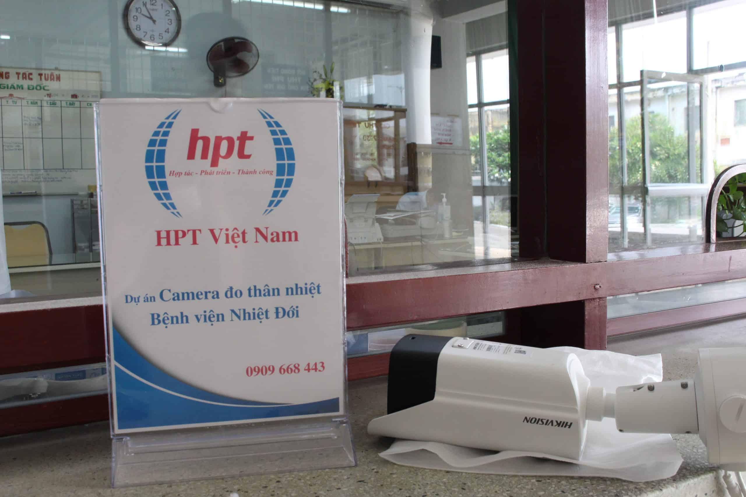 Camera đo thân nhiệt HIKVISION lắp đặt bệnh viện Nhiệt đới