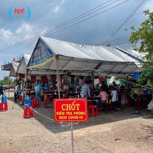HPT Việt Nam triển khai hệ thống Camera đo thân nhiệt cho toàn bộ chốt kiểm dịch tỉnh Bình Phước