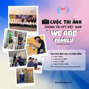 """THÔNG BÁO CUỘC THI ẢNH """"HPT VIỆT NAM - WE ARE FAMILY"""""""