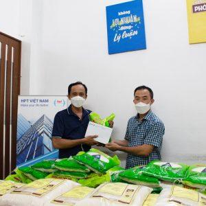 HPT Việt Nam hỗ trợ người lao động vượt qua khó khăn do dịch COVID-19