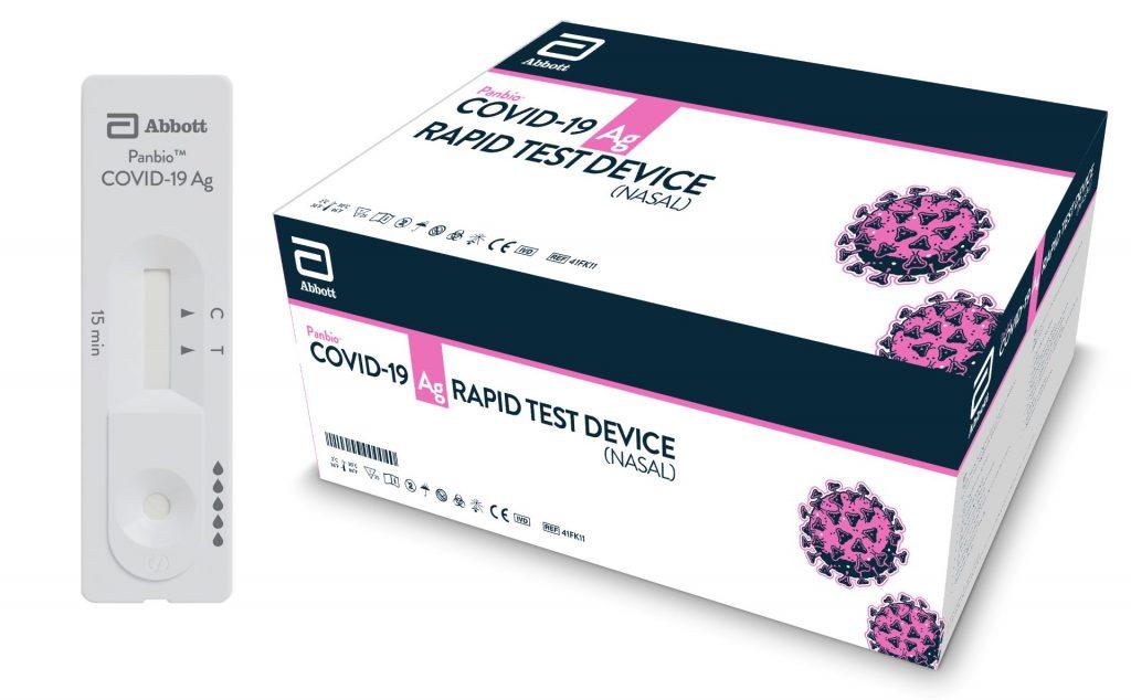 nCoV Panbio™ Covid-19 Ag Rapid Test Device