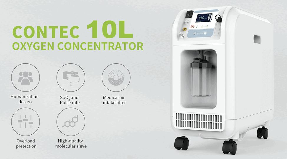 Đặc điểm của máy tạo oxy y tế OC10B