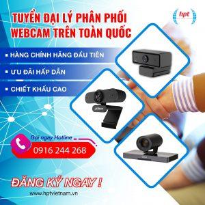 HPT Việt Nam tìm kiếm đại lý phân phối sản phẩm Webcam trên toàn quốc
