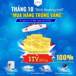 """Tháng 10 """"Bình Thường Mới"""" Nhận Ưu Đãi Thả Ga – Săn Vàng Cực Hot Cùng HPT Việt Nam"""